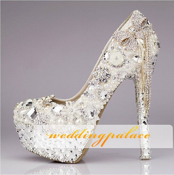 Unique Wedding Shoes Erfly And Crystal Bridal Bling New