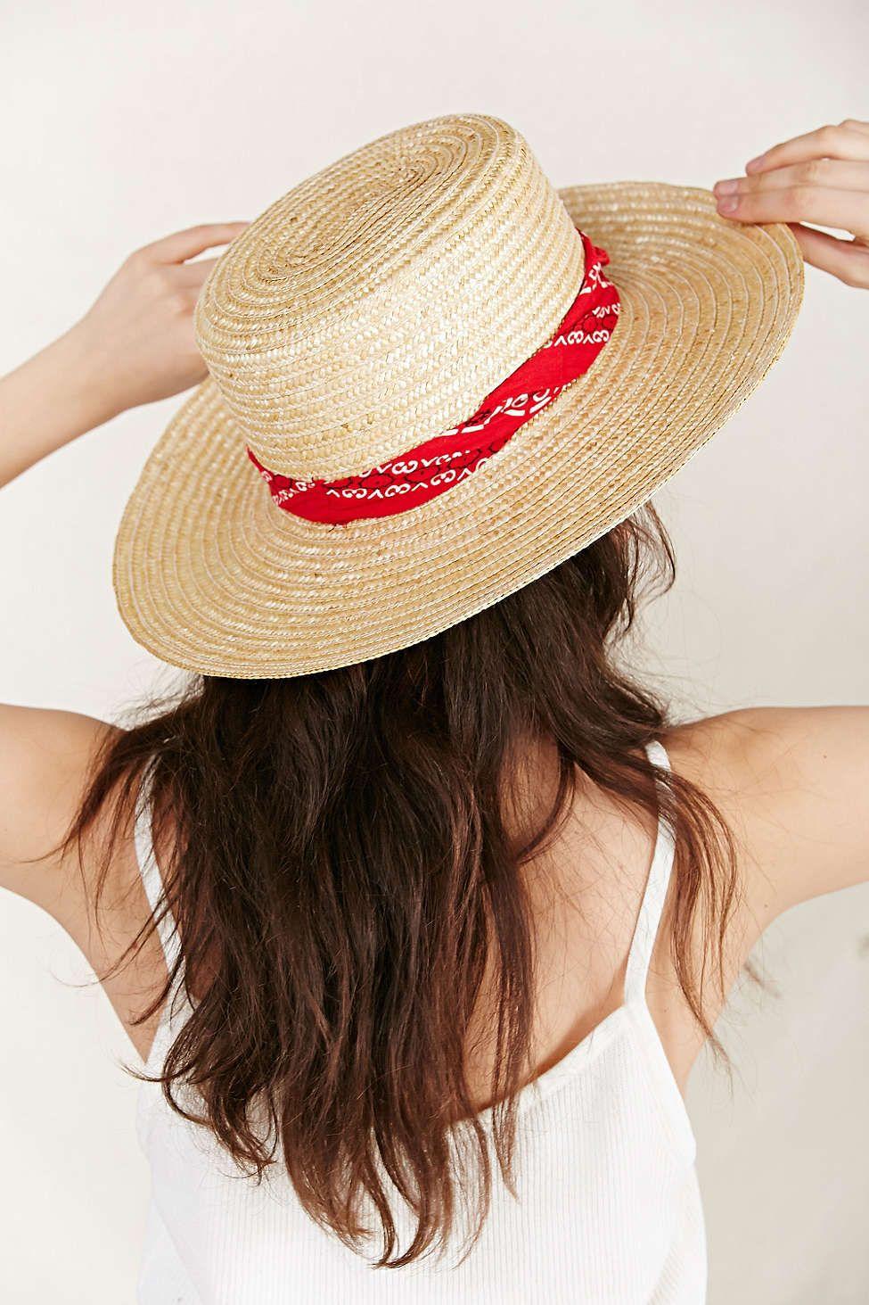 12c81a59 Urban Renewal Vintage Wide Brim Straw Hat | Accessorize | Hats ...
