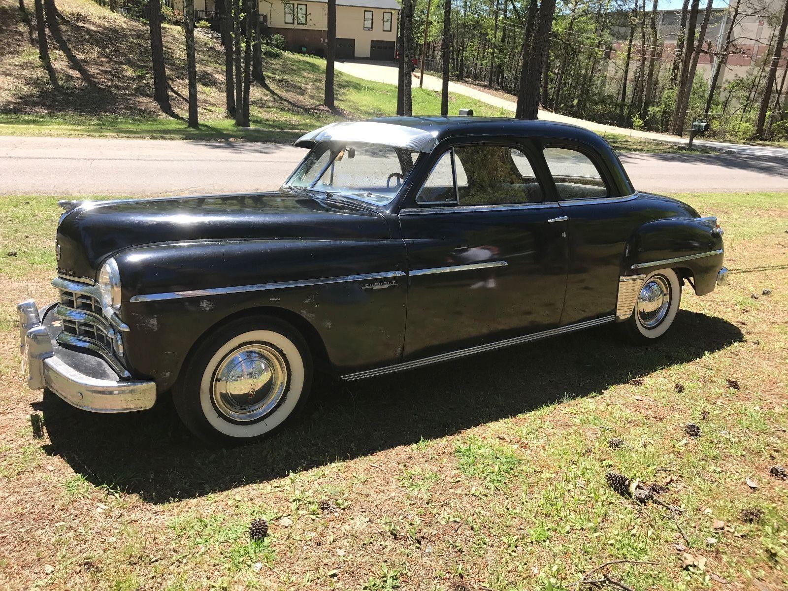 1949 Dodge Coronet Motor Car And Cars 2 Door