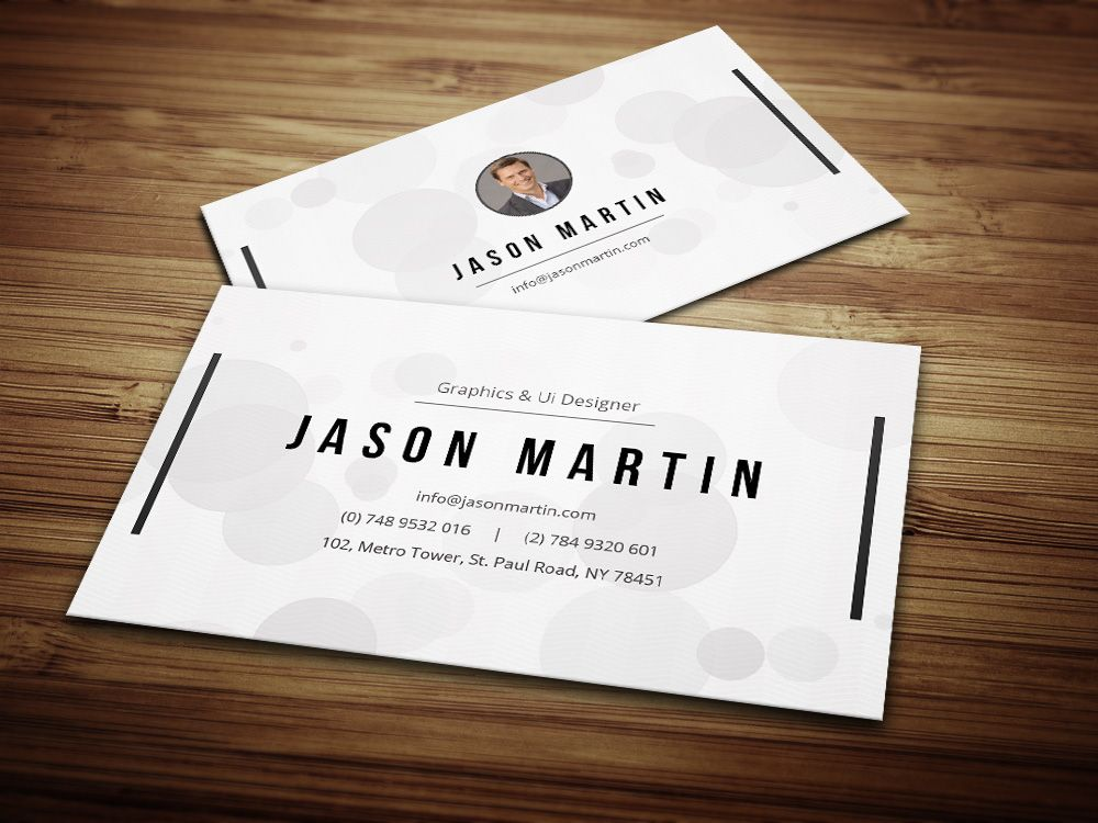 Creative Individual Business Card by bouncy on Creative Market ...