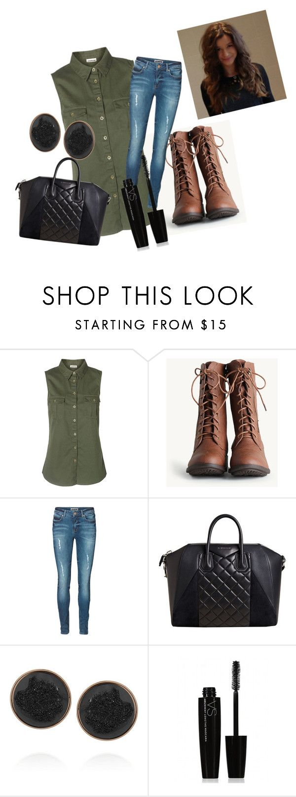 """""""Eleanor set"""" by littleladyinlondonlights ❤ liked on Polyvore featuring Vero Moda, Givenchy, Dara Ettinger and Victoria's Secret"""