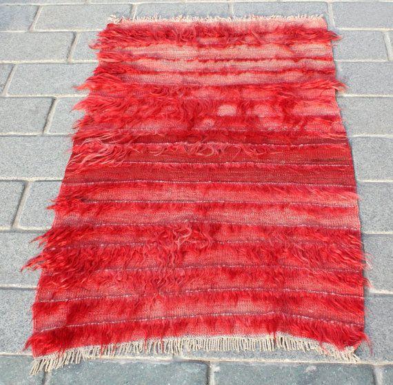 Rug Old Rug Filikli Rug Old Carpet Handwoven Old Rug Anatolian Filikli Decorative Rug 2.20' x 3.61' FAST Shipment with UPS -08786