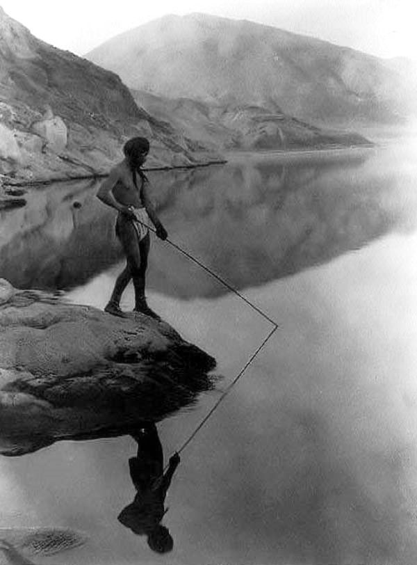 Indian fishing in lake | Native american history, North ...