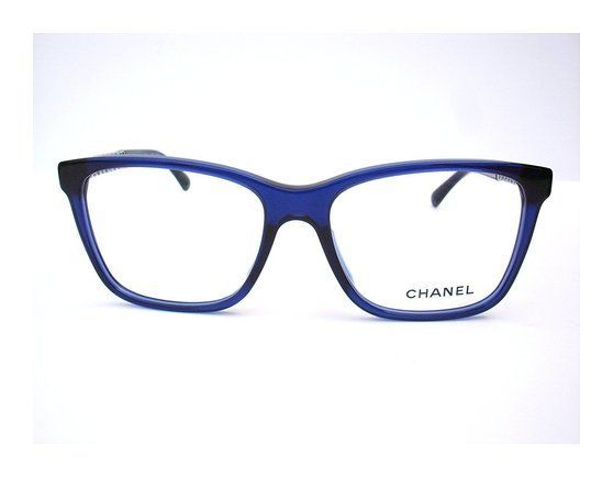 7c74a10cbf6 Chanel Authentic Designer Optical Eyeglasses-3302a -503 Blue Chain  Collection  apparel  eyewear