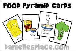food pyramid cards for eating healthy interactive food pyramid game