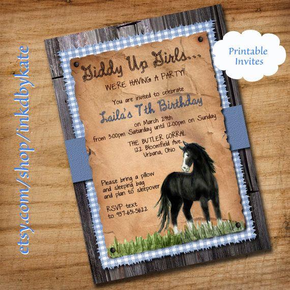 Personalizado Caballo y Jinete Silueta tarjeta Cake Topper Cumpleaños