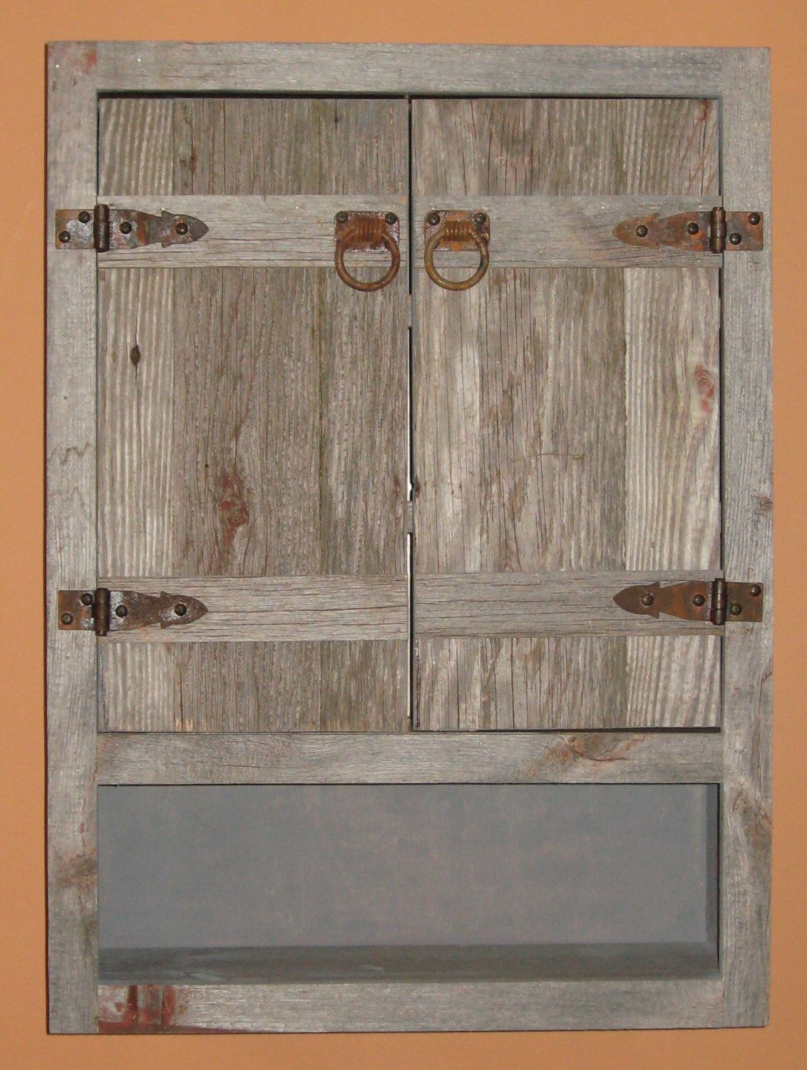 Weathered Wood Toilet Cabinet Rustic Toilet Cabinet Rustic Bathroom By Barnwoodfurniture72 On Etsy Https Rustic Toilets Bathroom Wall Cabinets Wall Cabinet