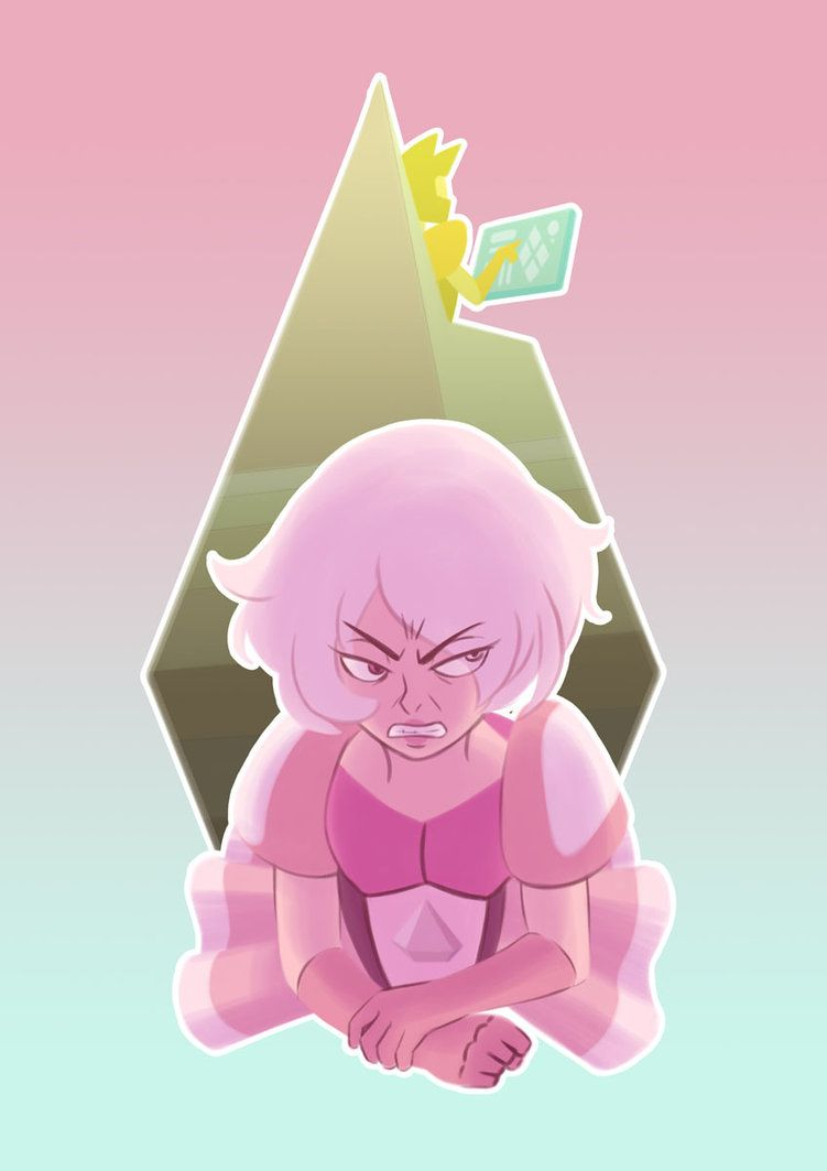 Pink Diamond Big Hatred By Robbiecave Steven Universe Pinterest