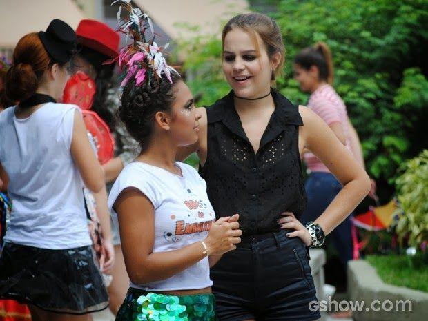 Novelas e Mundo das Celebridades: Malhação Casa Cheia: A fila andou! Anita dá mole p...