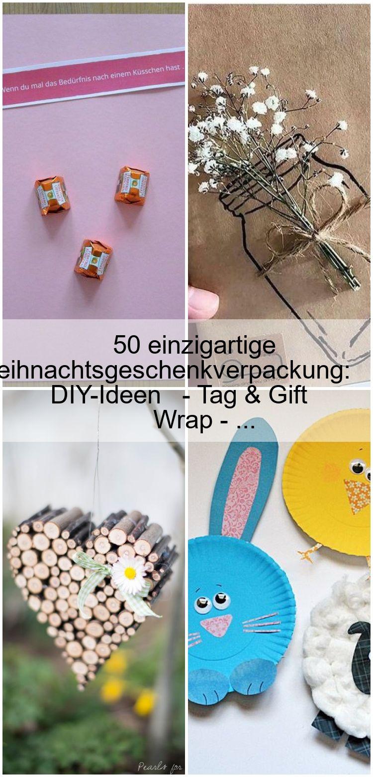 50 einzigartige Weihnachtsgeschenkverpackung DIYIdeen  Tag  Gift Wrap