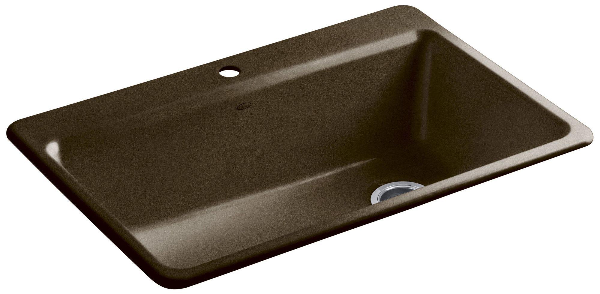 Riverby 33 L X 22 W X 9 5 8 Top Mount Single Bowl Kitchen Sink