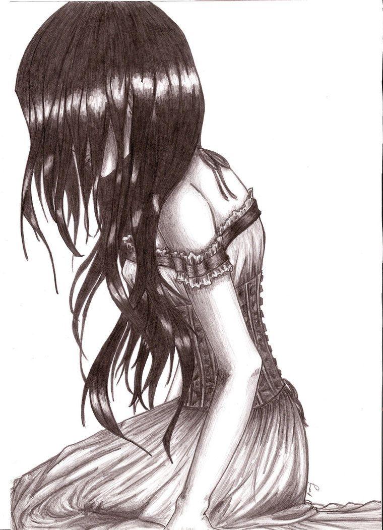 Dark angel drawings dark angel cry by bstvampire