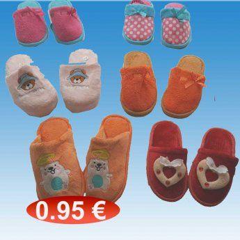 Παιδικές χειμερινές παντόφλες για κορίτσια Μεγέθη 23-34 σε διάφορα χρώματα 74a5c8c9fb5