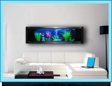 Welcome To Ocean World Interior Design Wall Aquarium Interior