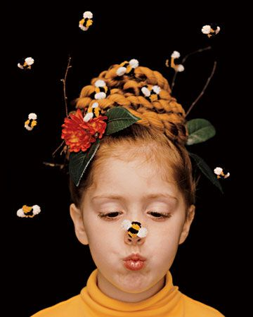 A beehive with buzz: Halloween costume cuteness