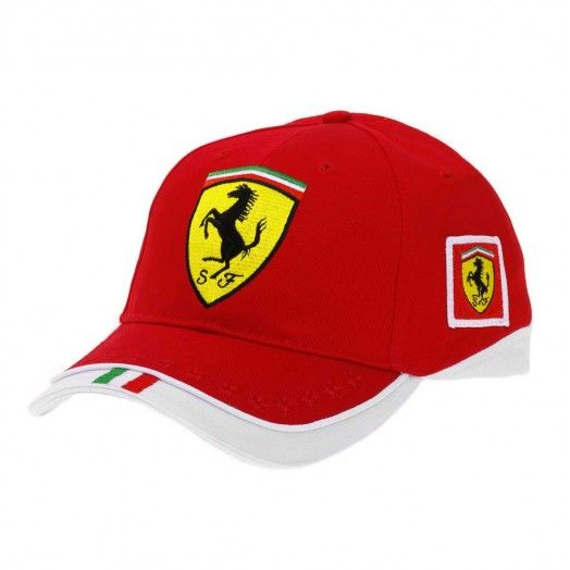 racing cap kimi hat signed new one raikkonen snapback products red ferrari baseball formula