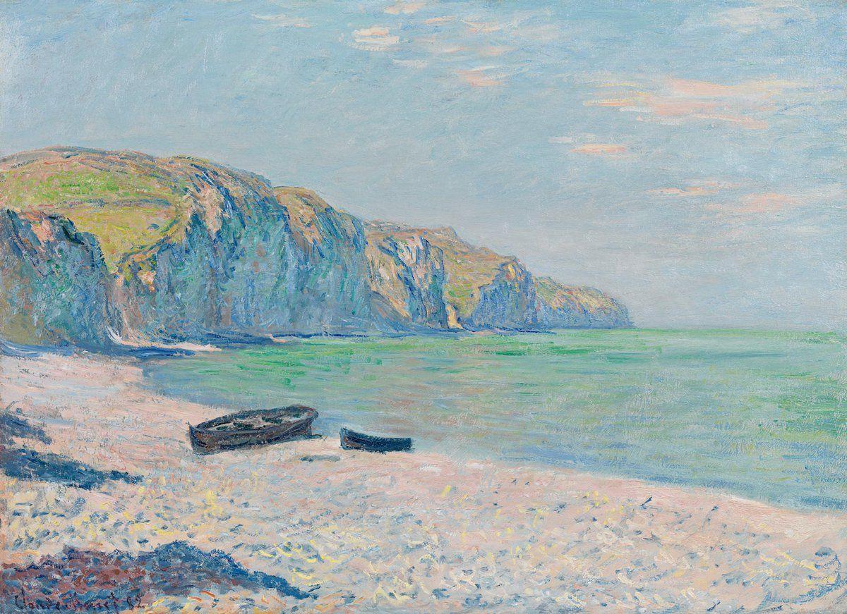 Monet Beach Paintings