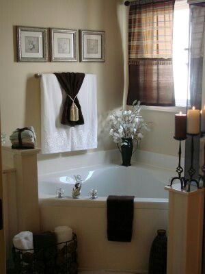 It 39 S A Little Much But I Like The Towels With The Ribbon Bathroom Ideas Pinterest