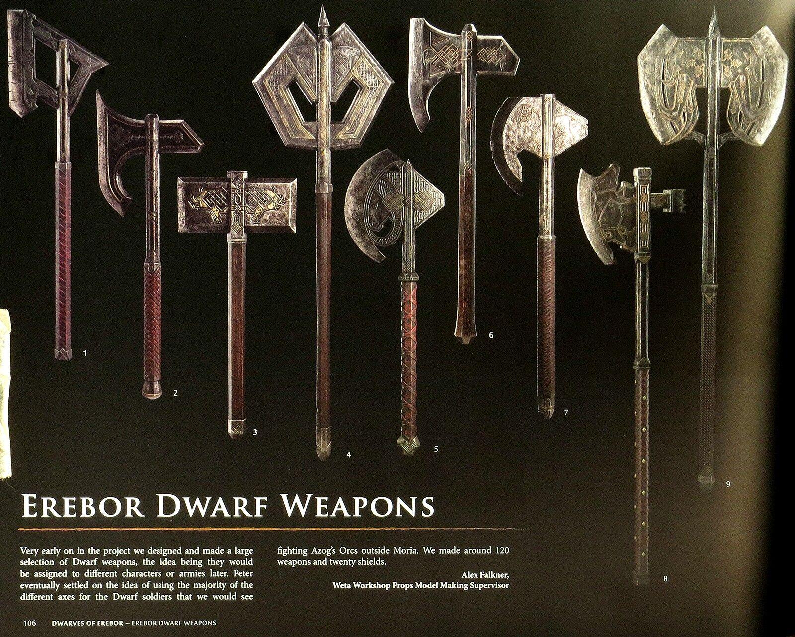 Erebor weapons