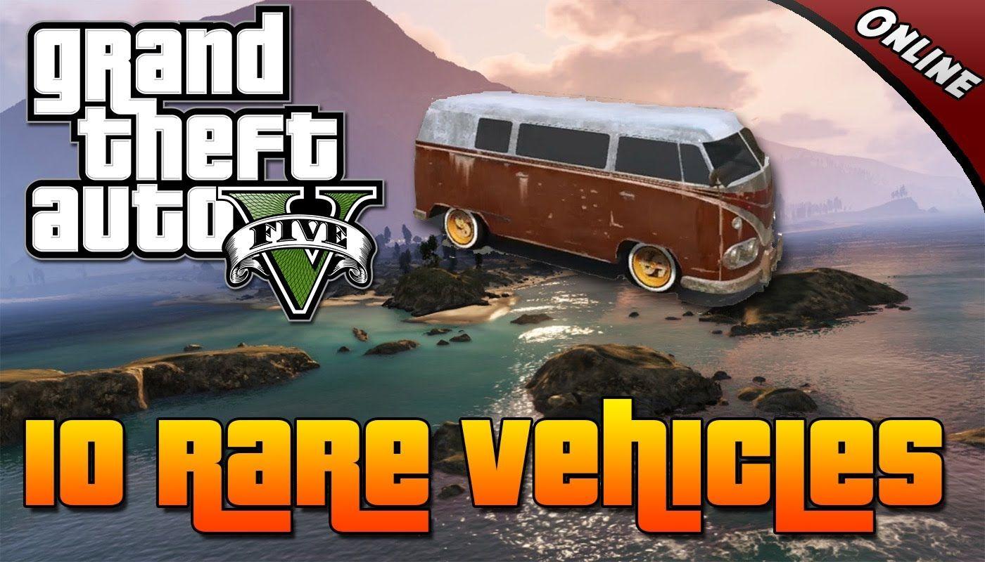 Grand theft auto 5 10 rare vehicles online each secret vehicle location gta