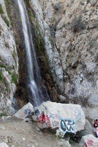 Bonita Falls In Lytle Creek 100 Foot Waterfall Near