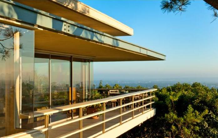 Modern Deck Railing Image Gallery Deck Railings Pinterest - Midcentury modern la