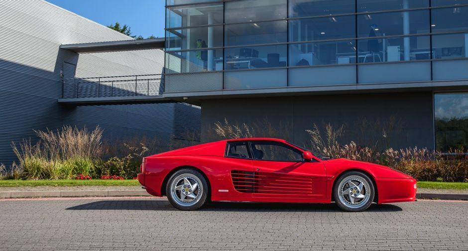 Der F512 M Mag Die Extremste Version Des Testarossa Sein Aber Wirft Man Einen Ersten Blick Auf Diesen Ferrari Dann Is Ferrari Ferrari Testarossa Car Features