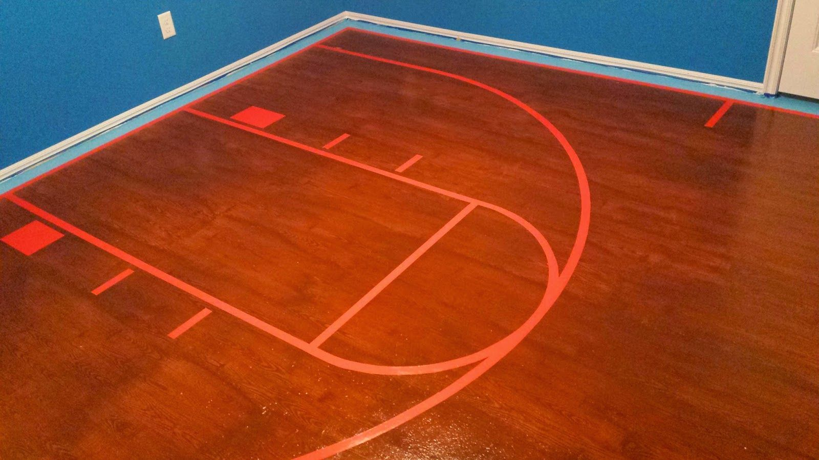 35 Plywood Floors Basketball Court Ideas Painted Plywood Floors Plywood Flooring Plywood