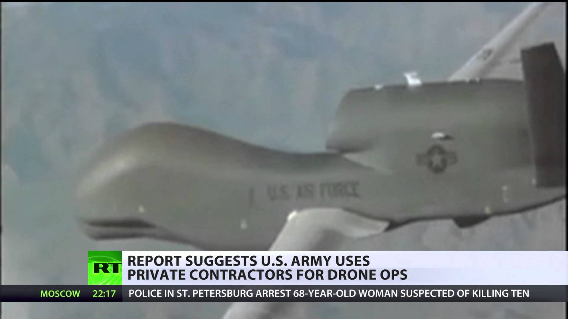 Lowest Bidder: Private military contractors at heart of drone program