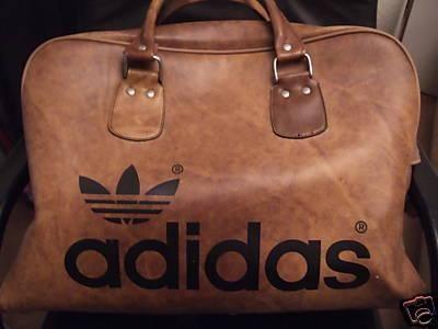 adidas leather gym bag