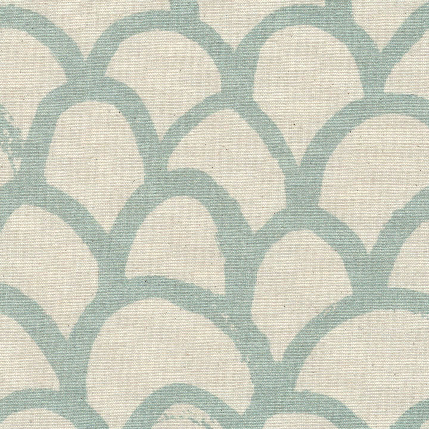 Arch in Robins Egg | Clay McLaurin #textiles #fabric #cotton #blue