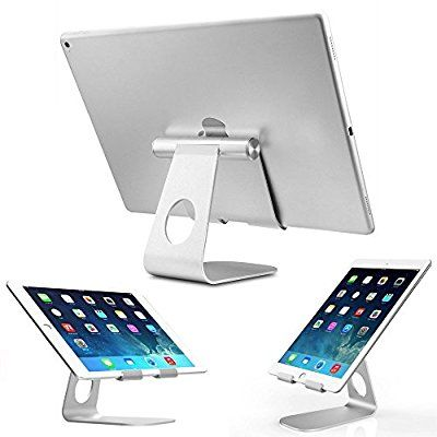 ZENGHAO iPad Pro Tablet Holder Stand 360° Rotatable Aluminum Alloy Desktop Holder Tablet Stand for iPad Pro 9.7'' iPad Mini 4 3 2 iPad Air iPhone SE 6S 6PLUS Samsung S7 S6 S5 Note 5 4 3