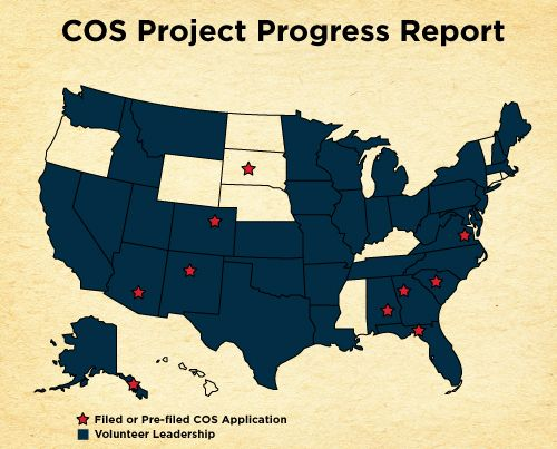 Progress Report - Feb 2014 Convention of States (a project for - project progress report