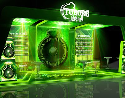 """Check out new work on my @Behance portfolio: """"Carlsberg Exhibition Booth"""" http://on.be.net/1EODYp9"""