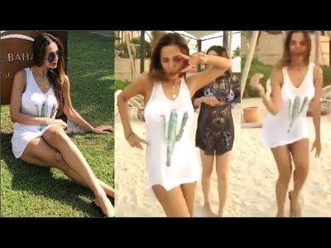 Hottie Malaika Arora Khan Hot Dance And Celebrate Birthday In Dubai Ma Celebrities Hotties Dance
