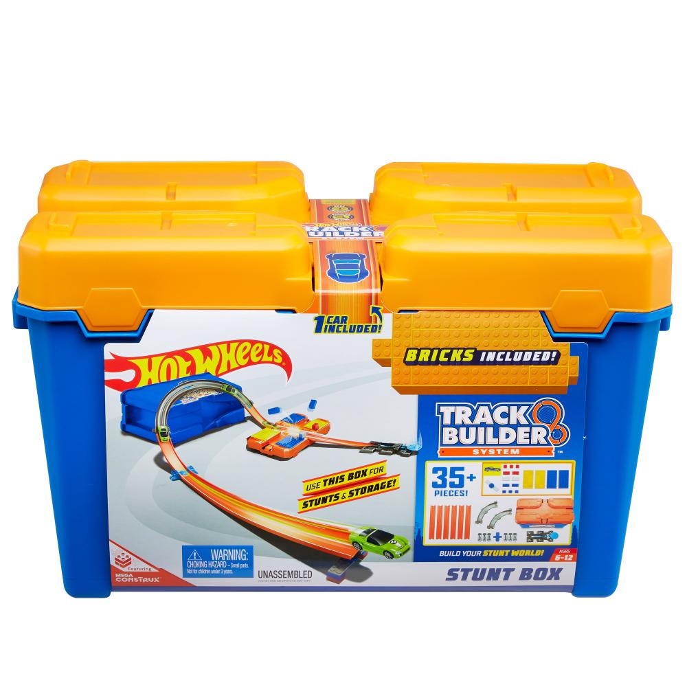 Hot Wheels Track Builder Stunt Box - Walmart.com