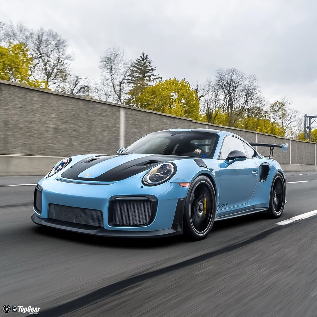 Turbo Tuesday's Our Gulf Blau Paint To Sample Weissach GT2