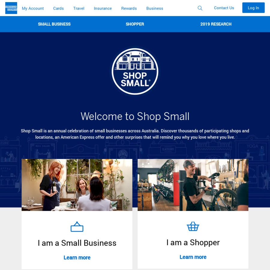 American Express Shop Small Spend 20 or More, Get 10