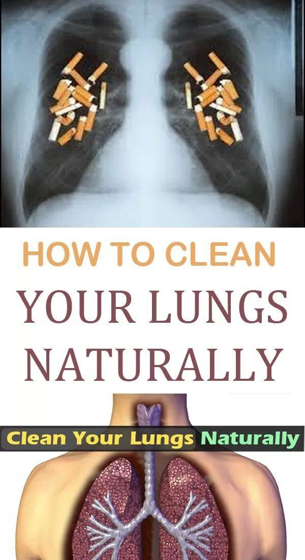 How to clean your lungs naturally