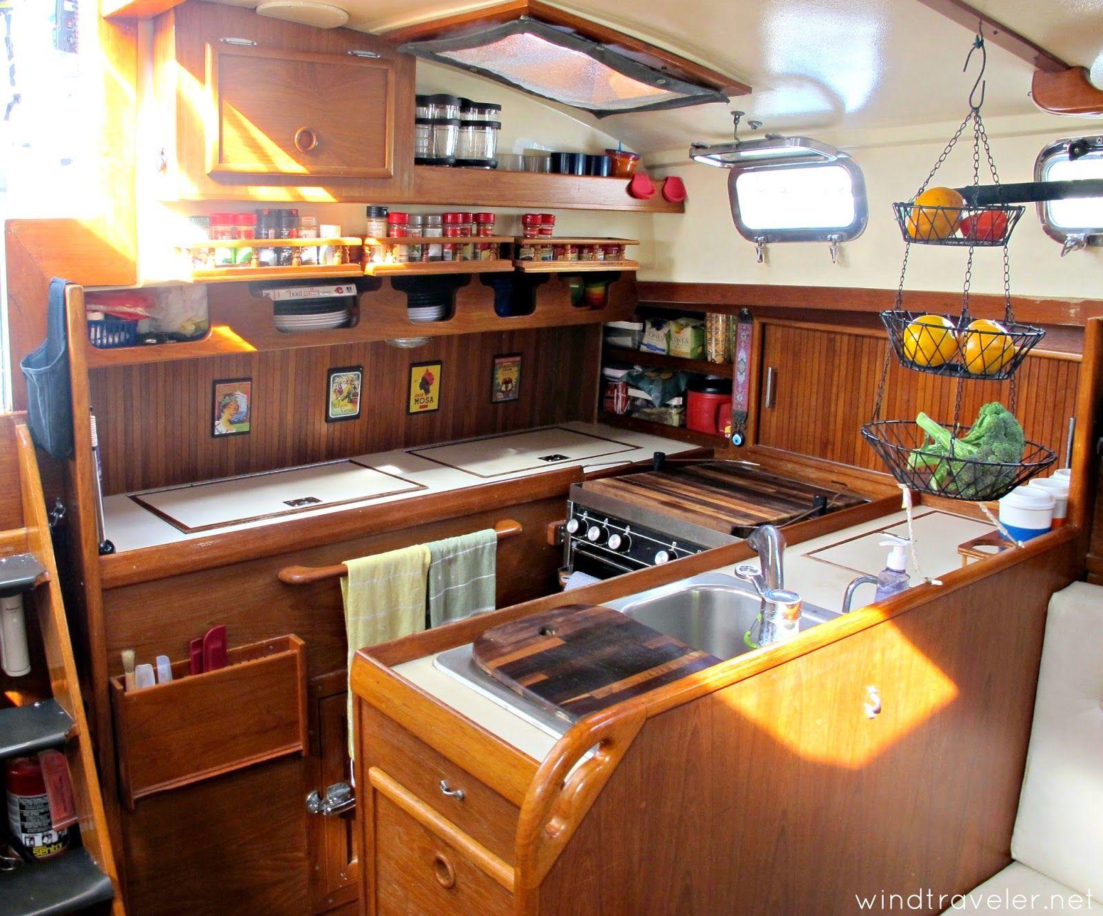 Windtraveler: Windtraveler: Our Boat Interior: A Photo Tour