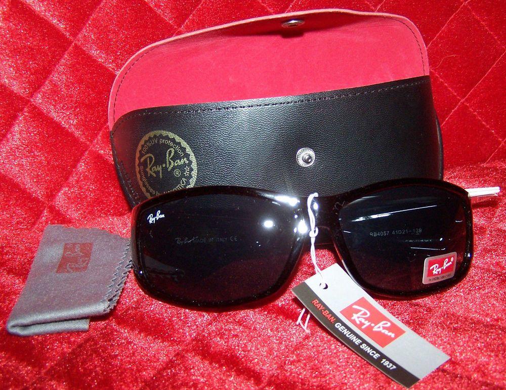 08df8b0233 ... sale ray ban rb4057 polarized w3348 sunglasses 135b2 703f5 france ray  ban sunglasses black frame rb 4057 authentic polarized lenses italy rayban  6c6a8 ...