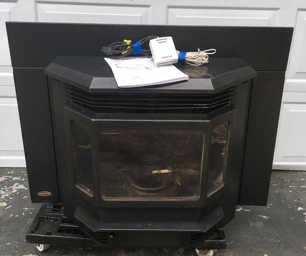 QuadraFire Classic Bay 1200i Pellet Stove Fireplace Insert