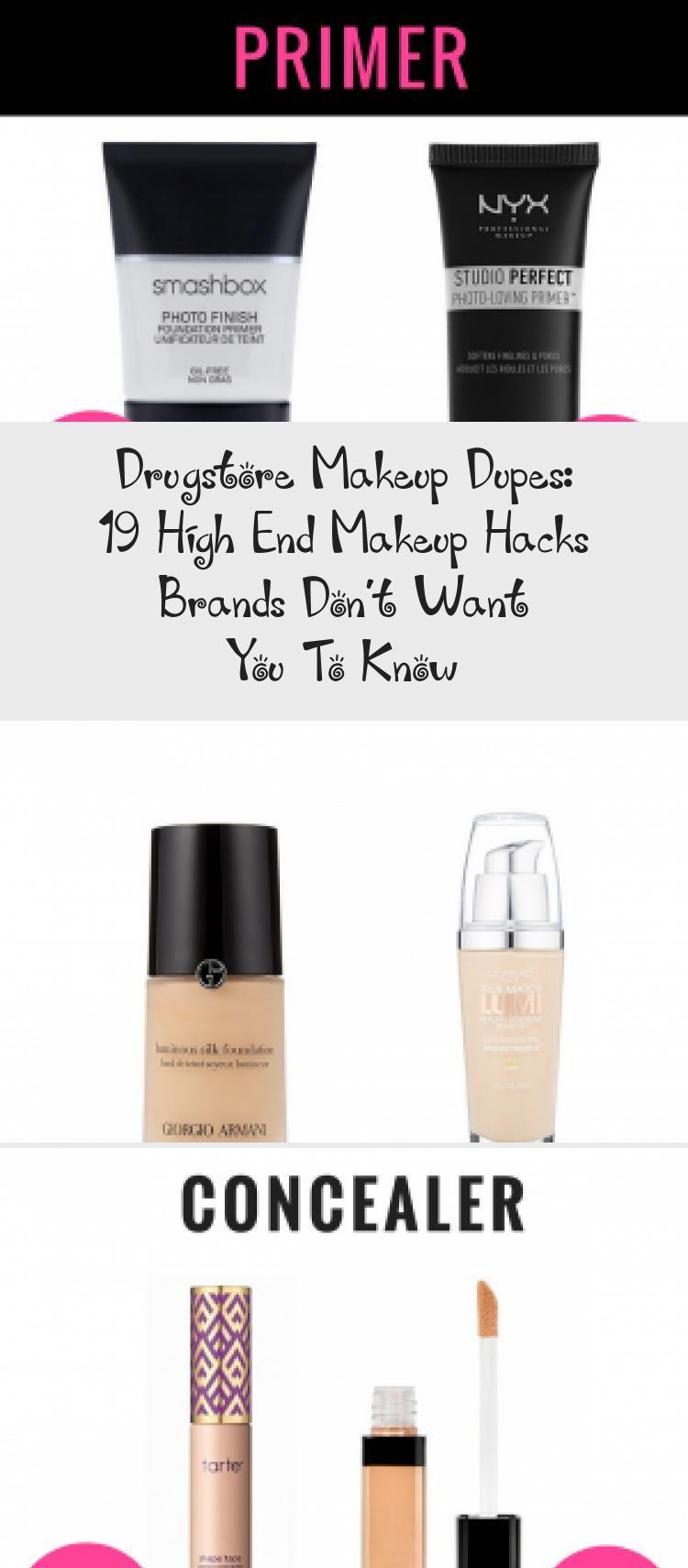 Photo of Drogerie-Make-up-Dupes: 19 High-End-Make-up Ha