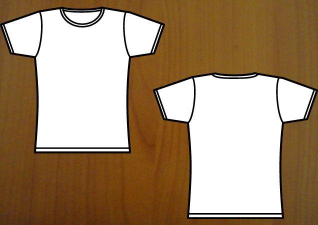 Download Girl S T Shirt Template Eps Girl Shortsleeve Vector Women Tshirt Template T Shirt Design Template Shirt Template Shirts