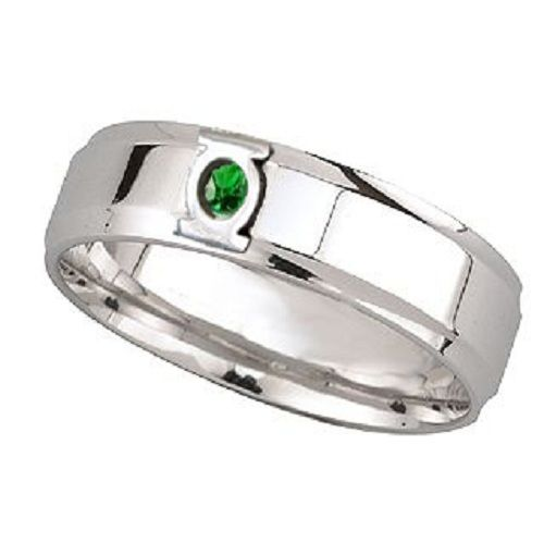 green lantern wedding band - Green Lantern Wedding Ring