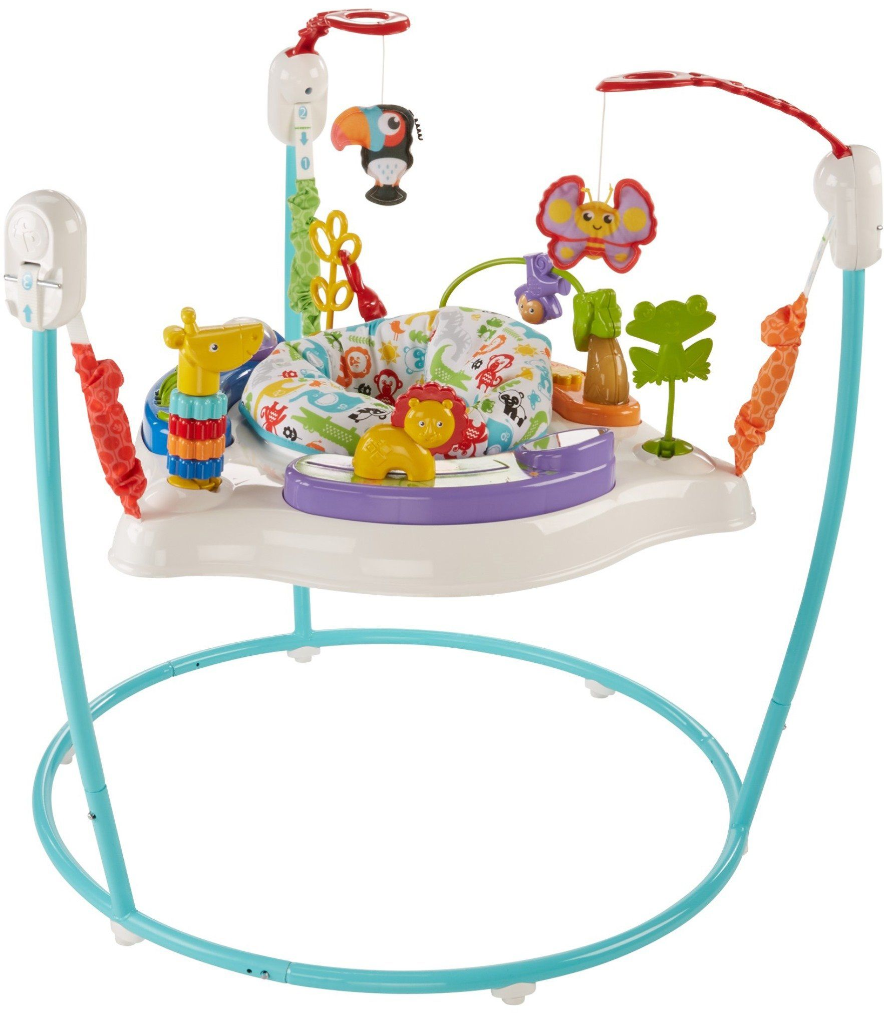 Fisherprice Animal Activity Jumperoo Blue For More Information Visit Image Link This Is An Affili Baby Activity Center Animal Activities Infant Activities