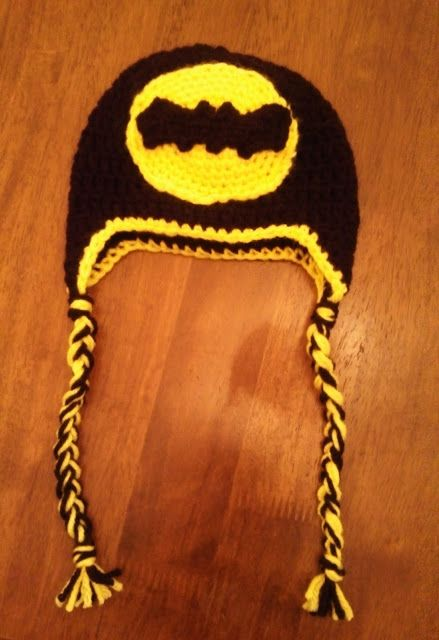 Butterfly\'s Creations: Batman Logo Beanies. FREE pattern for all ...