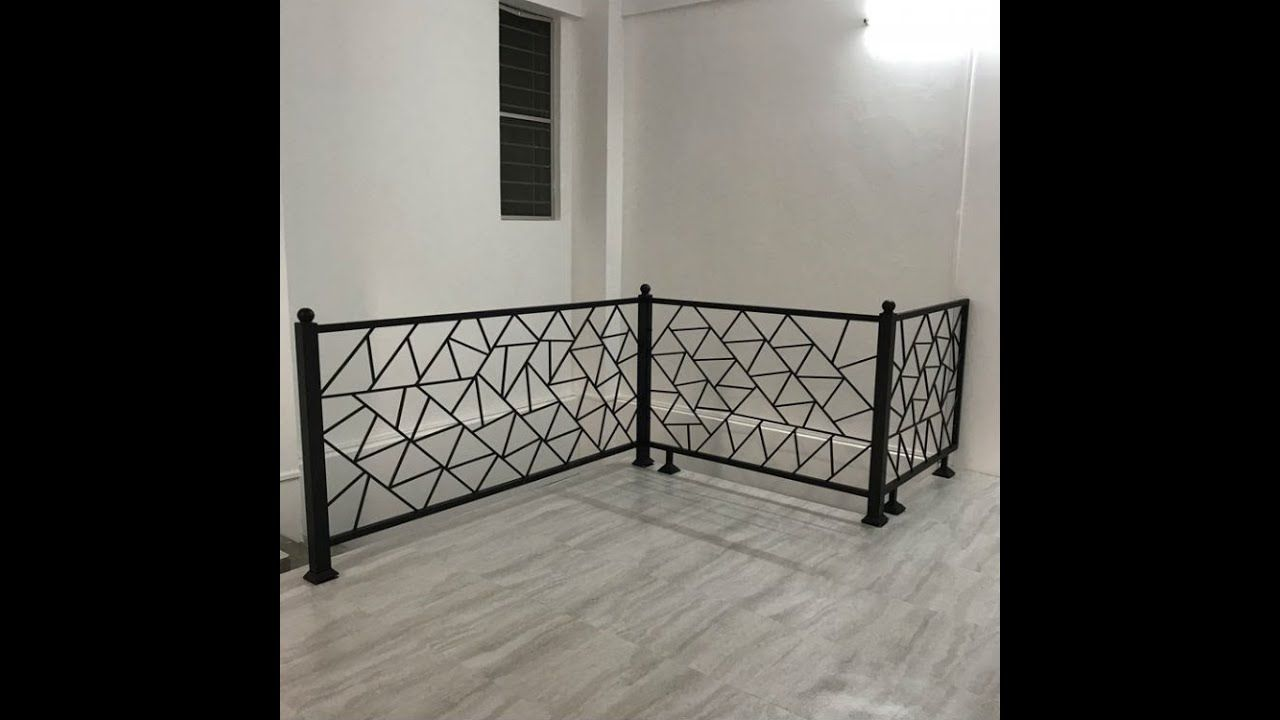 Best Iron Staircase Handrail Balcony Railing Attic Railing 640 x 480