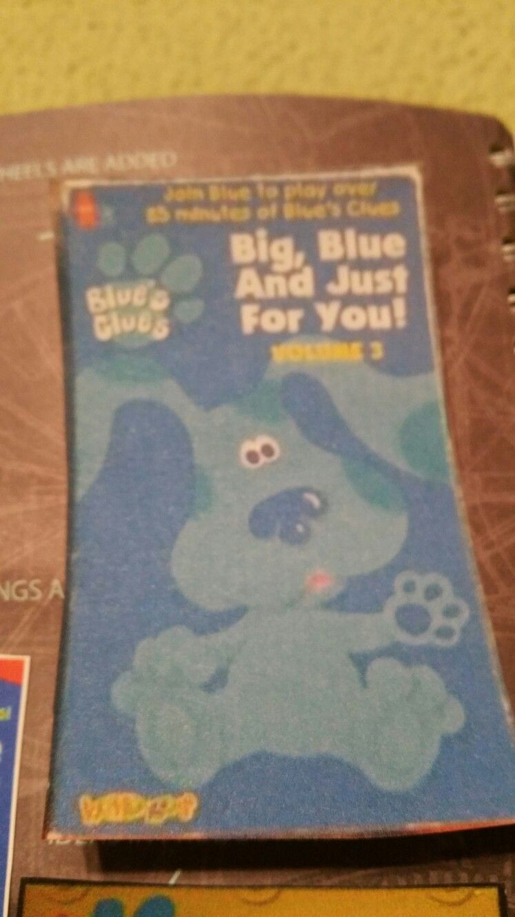 Blues Clues Big Blue And Just For You Volume 3 Two Complete Videos