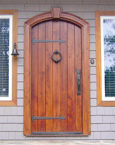 Custom Old World Plank Door Solid Wood Front Entry Doors By Decora Wood Front Entry Doors Solid Wood Front Entry Doors Wooden Doors